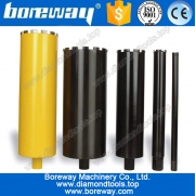 China Diamond construction thin wall core drill bit factory