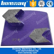 China Diamond grinding blocks with 2 arrow diamond grinding head for grinding granite factory