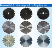China Diamond saw blade for cutting asphalt and concrete factory