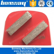 China Double Rectangle Segments Lavina Diamond Tools For Concrete Grinding factory