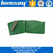 China EZ Change HTC Diamond Concrete Grinding Pad With Single Segment factory