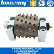 China Factory Provides 60 Tooth Carbide Tip Wheel Diamond Tungsten Steel Bush Hammer Roller factory