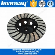 China Granite cup grinding wheel 4 inch,turbo wave cup grinding wheel factory