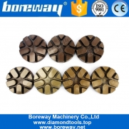 China Grits 50# To 3000# Diamond Concrete Floor Grinding Polishing Discs factory
