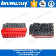 China High Density Filaments 170mm Fickert  Ageing Brush for Rock Slate factory