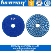 China High Quality 4 Inch Metal Bond Grinding Pad Concrete Floor Polishing Disc For Supplies factory