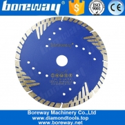 China High Quality Diamond Saw Blade Disk Tools With Protect Teeth for Hard Granite fábrica