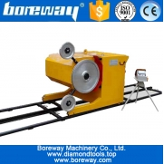 China High-end diamond wire saw cutting machine factory