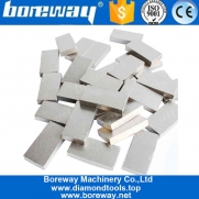 China Hot Pressed Diamond Tips Cutting Segment For Marble Granite  Reinforce Concrete Boreway Manufacturer factory