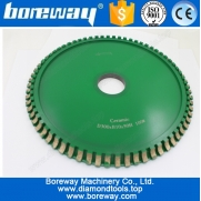 China Hot Sell Ceramic Profile Diamond Cutting Wheels D300*B10*50H 100# factory