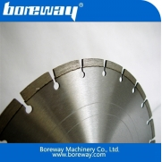 China Laser welding diamond saw blade for cutting cobblestone and concrete road factory