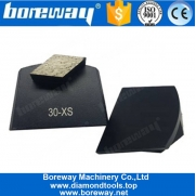 China Lavina Grinding Plate With Single Rhombic Diamond Segment factory