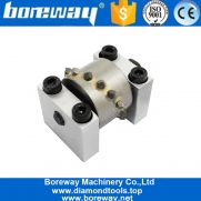 China Boreway Wholesale Bush Hammer Roller Head Tool With Carbide Segment For Granite Sandstone Marble Limestone factory
