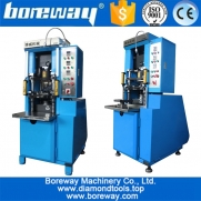China Newest fully automatic 35 ton and 60 ton pressure mechanical cold press machine for diamond powder factory