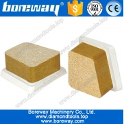 China Oxalic acid bond frankfurt abrasive polishing block factory