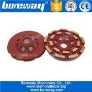 China Professional 125mm welding diamond cup wheel for concrete factory