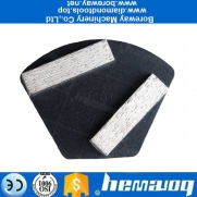 China Professional Metal Trapezoid Shape Grinding Pad 40*10*10 Concrete Floor Polishing Disc Manufacturer 2020 factory