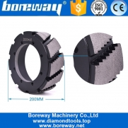 China Sale In India Turkey Brazil Usa Boreway Wet Use Quartz Calibrating Wheels For Automatic Disc Calibrating Grinding Machine Line factory