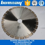 China Segmented Diamond Tooth Saw Blade For Cutting Granite factory