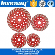 China Segmented Turbo Rim Diamond Grinding Disc Cup Wheel for Ceramic Tile diamond grinding cup wheel supplier factory