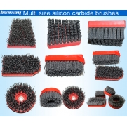 China Silicon carbide antique abrasive brushes for stone surface factory