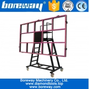 China Stone slab transfer cart for stone factory factory