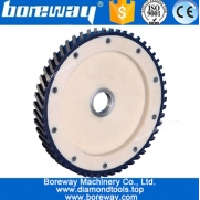 China Supper quality silent diamond calibatiing grinding milling wheel for stones factory