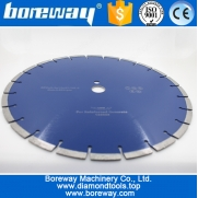 China Supply D350x3.2x10x27(25.4mm) Diamond Cutter Saw Blade For Reinforced Concrete factory