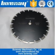 China Supply D350x3.2x12x25.4-20mm Diamond Cutting Disc For Green Concrete factory