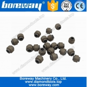 China Supply Dia.11.4mm  Vacuum Sintered Marble Diamond Beads,Vacuum Brazed Wire Cutting Bead factory