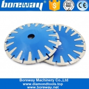 China T Segment Circular Diamond Sharp Cutting  Long Working Life Wet Use Cut Professional Qualtiy Blade factory