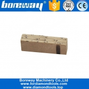 China Wet Cutting Beige Marble Multi Blade Diamond Block Segment for Iran Market factory