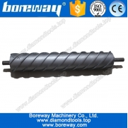 China diamond spiral calibration rollers for ceramics, diamond spiral calibration rollers for tiles, factory