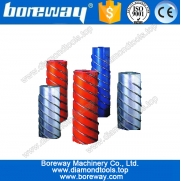 China diamond spiral dressing rollers for ceramics, diamond spiral dressing rollers for tiles, factory