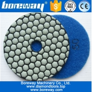 China dry use grinding pad, twister pads, angle grinder polishing pad, factory