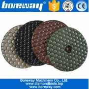 China buffing pad for angle grinder, polishing pad for angle grinder, diamond pads for travertine, factory