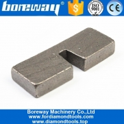 China granite block diamond segment,Silver Welded 350mm U Slot Diamond Segment for Granite factory