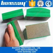 China diamond sanding block hand pads, sanding concrete by hand, factory