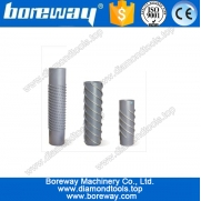 China spiral diamond calibration rollers for ceramics, spiral diamond calibration rollers for tiles, factory