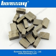 China Stone cutting segment wholesales,Boreway block cutting segment for granite and hard stone factory