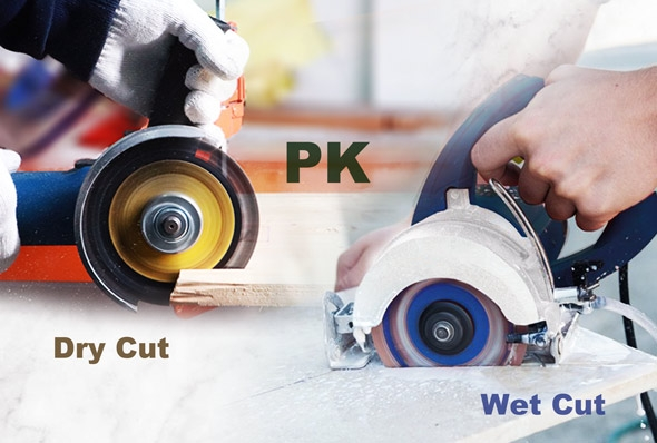China What is the difference between wet and dry cutting of diamond saw blades? on sales