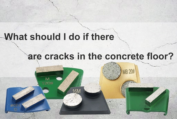 China What should I do if there are cracks in the concrete floor (1)? on sales