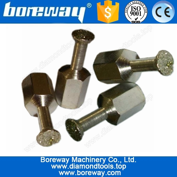 Diamond drill bolt back for wall,M6/M8 electroplate diamond back bolt drill bits
