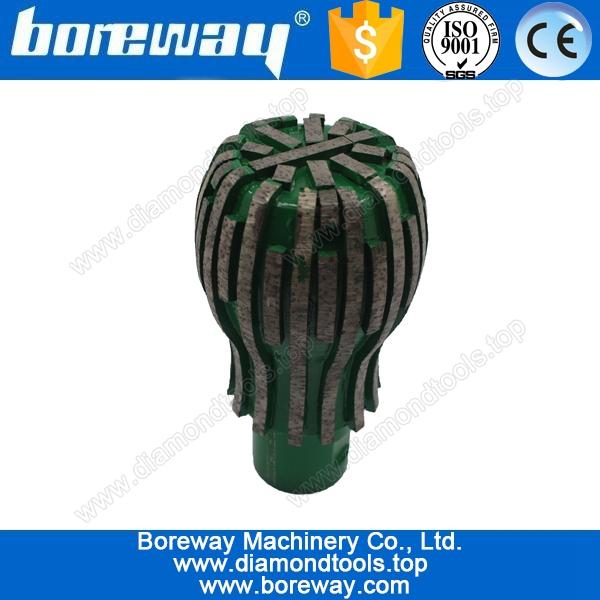 diamond spherical milling cutter for grinding stone vase