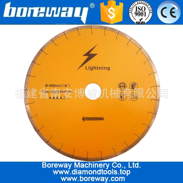 Professional purpose diamond saw blade for marble(fish hook silent disc)